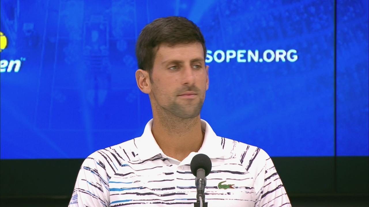 Interview Novak Djokovic Round 1 Official Site Of The 2020 Us Open Tennis Championships A Usta Event