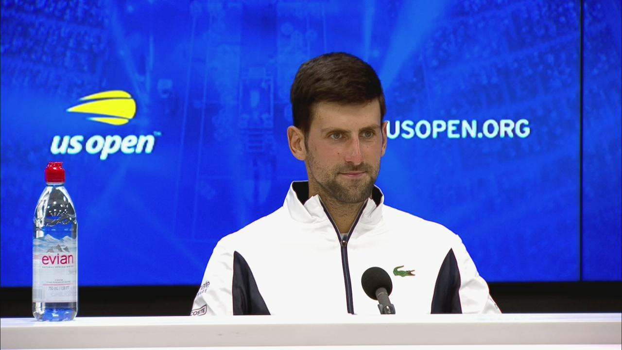 Interview Novak Djokovic Round 3 Official Site Of The 2020 Us Open Tennis Championships A Usta Event