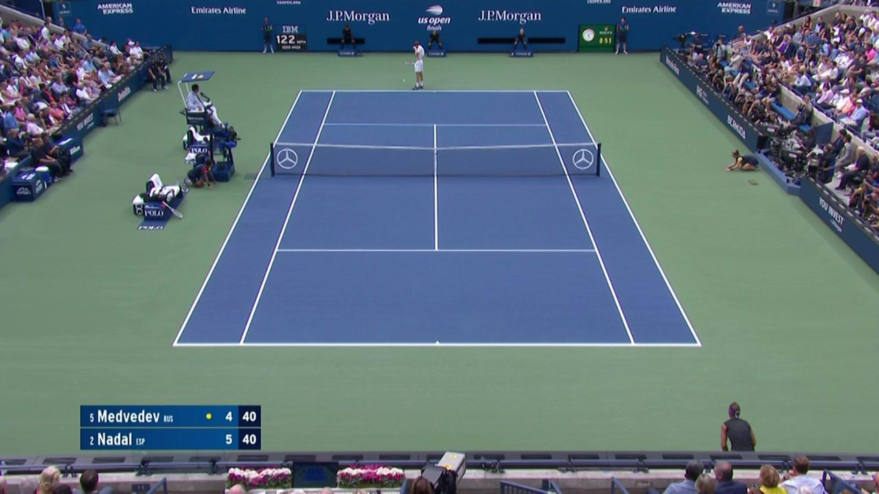 AI Match Highlight: Daniil Medvedev vs Rafael Nadal - US Open Highlights &  Features - Official Site of the 2020 US Open Tennis Championships - A USTA  Event